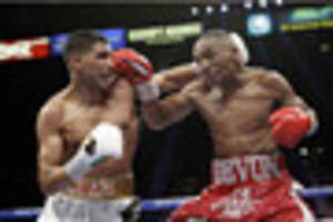 amir khan faces awesome prospect of las vegas contest against...