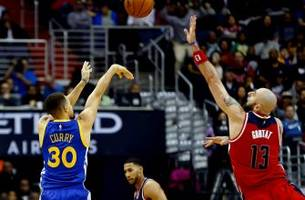 Golden touch: Curry, Durant go crazy to set up Saturday's mega matchup