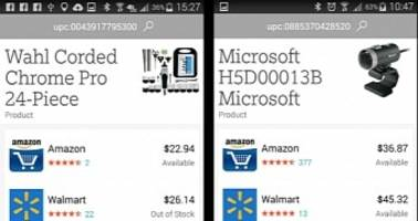 microsoft updates bing for android and ios with new barcode scanner, more