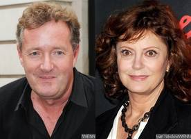 Piers Morgan Has Issue With Susan Sarandon's Cleavage at SAGs and She Has Hilarious Response
