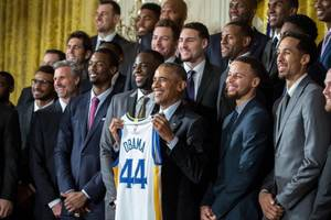 The Golden State Warriors Go To Washington!