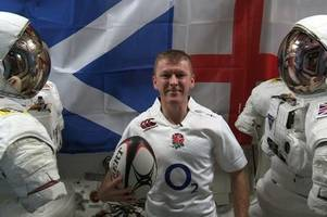 six nations to be live-streamed in space for tim peake