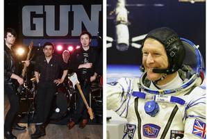 scots band gun go galactic after tim peake's out of this world endorsement