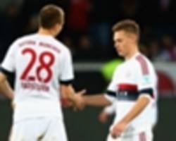 guardiola hails kimmich for keeping chicharito quiet