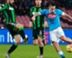 hamsik is playing like gerrard - sarri