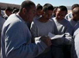 Mexico prisoners rehearse their big musical number for the pope ahead of his visit to Mexico
