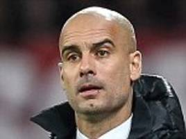 Bayer Leverkusen 0-0 Bayern Munich: Pep Guardiola's side falter with Xabi Alonso sent off after Manchester City announcement