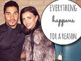 lucy mecklenburgh shares inspirational message after split from louis smith