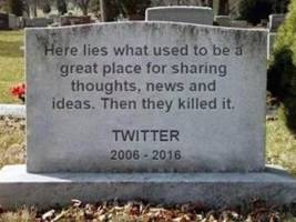 twitter may become more like facebook, and people are so upset they're declaring it dead (twtr)