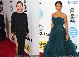 NAACP Image Awards 2016: Chrissy Teigen and Jada Pinkett Smith Flaunt Natural Beauty on Red Carpet