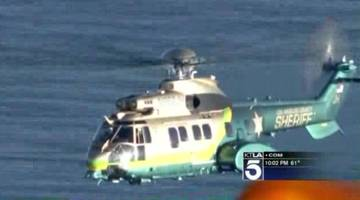 Search and Rescue Suspended in Midair Plane Crash