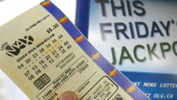 Single winning ticket sold in Ontario for $60M Lotto Max jackpot