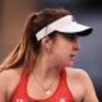 Bencic puts Swiss 1-0 up against Germany