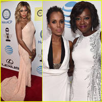Kerry Washington & Viola Davis Represent Outstanding Actresses at the NAACP Image Awards 2016