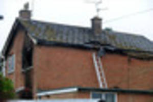 elderly man dies in house fire in leicestershire