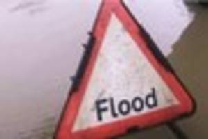 video: truro police issue warning using film of flooding ford