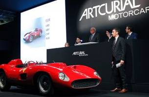 Most expensive car in history: Rare Ferrari Spider racer sells for $36.2 million
