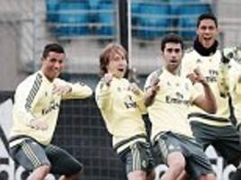 Real Madrid gear up for crucial La Liga clash with Granada as boss Zinedine Zidane says game is must-win in title race