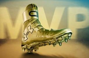 Cam Newton to likely wear 'MVP' gold cleats in Super Bowl 50 pregame