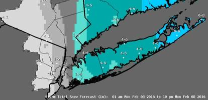 Latest Nassau County Weather: Winter Weather Advisory in Effect Until 6 p.m.