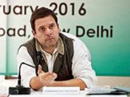 rahul interviews 600 congress members to help give gop a facelift