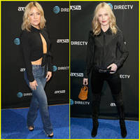 kate hudson & kate bosworth attend directv's super saturday ahead of super bowl 2016!