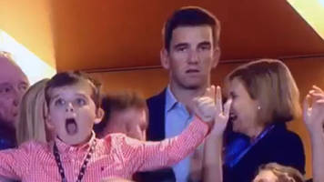 Internet rips Eli Manning for miserable look after brother's Super Bowl 50 win