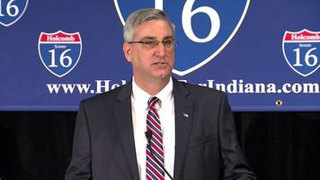Republican Eric Holcomb drops out of Senate race