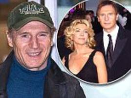 Liam Neeson reveals he's romantically involved with an 'incredibly famous' woman seven years after the death of his wife Natasha Richardson