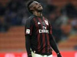 ac milan boss sinisa mihajlovic expecting more from mario balotelli but admits striker will improve when he regains fitness