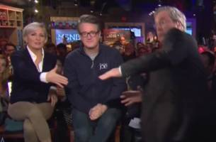 Jeb Bush Narrowly Avoids Falling Down After MSNBC Interview