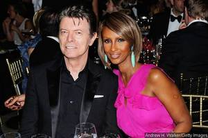 David Bowie's Widow Iman Breaks Silence With First Message Since the Singer's Death