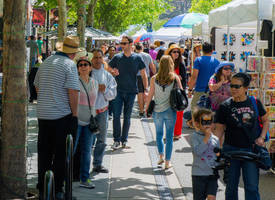 is it time already for mtn. view a la carte & art festival? yes - almost here!
