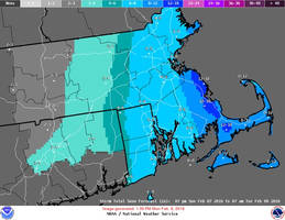 Snow Forecast for Mansfield Lowered