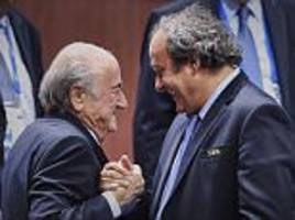 russia to invite sepp blatter and michel platini to 2018 world cup despite bans