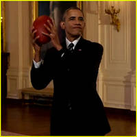 President Obama Predicts Super Bowl 2016 Winner on 'The Late Show'