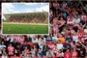approved: exeter city stadium upgrade funded by new student flats...