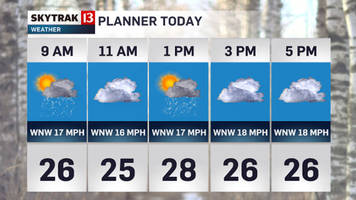 Slick morning continues wintry week