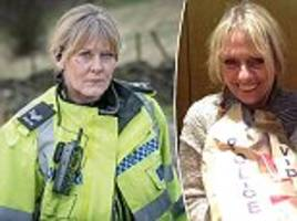 Police woman who inspired Sarah Lancashire's character in Happy Valley says the violence in the gritty drama is realistic of what female officers face every day