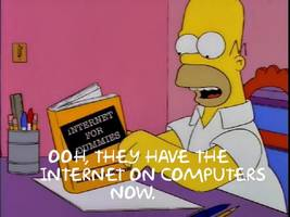 'They have internet on computers now!' Simpsons quote search engine goes live