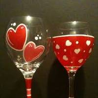 Valentines Painting events
