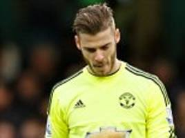 David de Gea's Real Madrid contract offer released by Football Leaks... Manchester United goalkeeper missed out on £8.5m signing-on fee in £177,000-a-week deal
