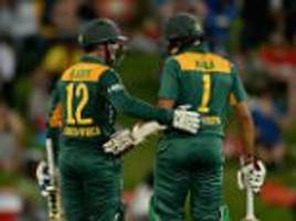 Quinton de Kock and Hashim Amla lead South Africa to victory to keep series alive despite Joe Root's super hundred