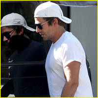 bradley cooper checks out of hotel bel-air for super bowl 2016!