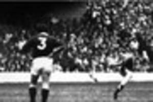 Boom! The monster kick against Scotland that made a legend of...