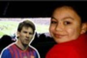 lionel messi leaves disabled schoolgirl heartbroken after no-show