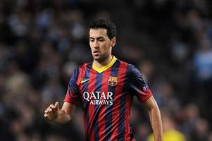 Come and get me Pep: Barcelona star Sergio Busquets would love to work with new Man City boss Guardiola again