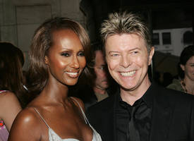 Iman Breaks Social Media Silence 1 Month After David Bowie's Death (PHOTOS)