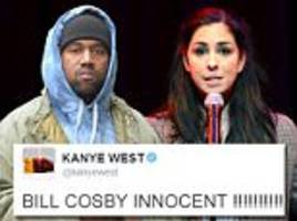 'BILL COSBY IS INNOCENT': Kanye unleashes Twitter war with shocking support for disgraced comedian