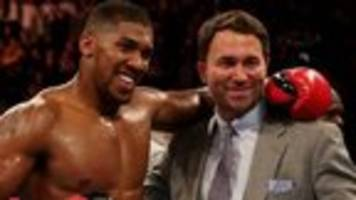 Joshua may face Martin for IBF title